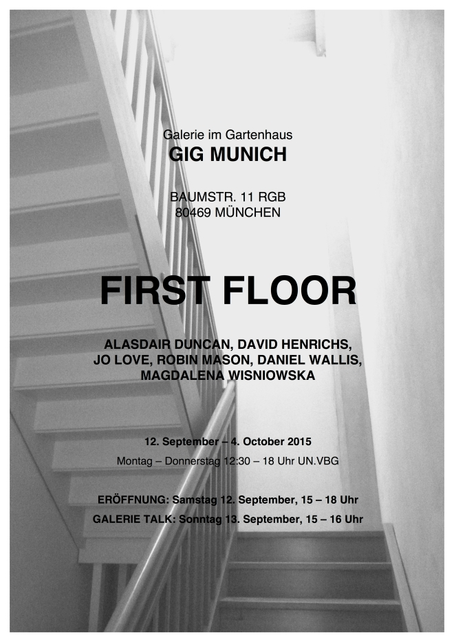 Firstfloor poster